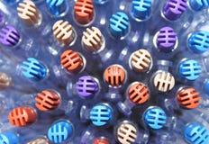 Head pen design. Head pen multicolored of design Royalty Free Stock Images