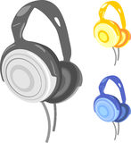 Head phones Royalty Free Stock Photography