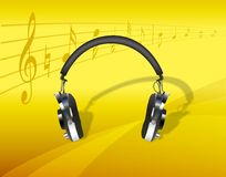 Head Phones 2 Royalty Free Stock Image