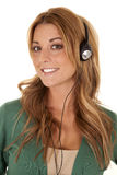 Head phones Royalty Free Stock Photo