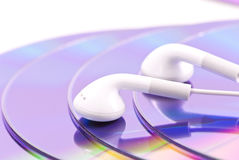 Head Phones For Music Stock Image