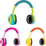 Head Phones Vector Stock Photo