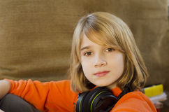 Head phones Royalty Free Stock Photos