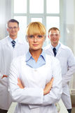 Head physician Stock Image