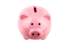 Head-on Piggybank Royalty Free Stock Photography