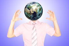 Head Planet Royalty Free Stock Image