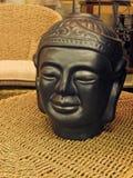 Head prydnad för Buddha Arkivfoto