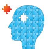 Head puzzle Stock Image