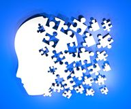 Head puzzle Stock Photography