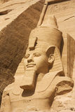 Head of Ramses II Stock Images