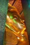 The head of Reclining Buddha Royalty Free Stock Image