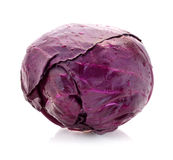 Head of red cabbage Stock Photography