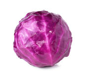Head of red cabbage Stock Images