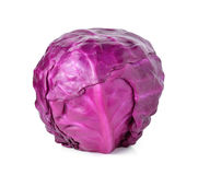 Head of red cabbage Stock Photos