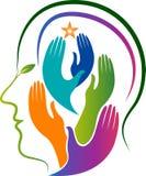 Head refreshing logo Stock Images