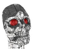 head robot Royaltyfri Bild