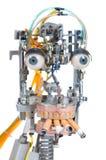head robot Arkivbild