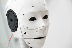 The head of robot. The head of the robot Stock Photo