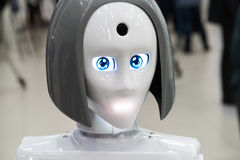 The head of robot Stock Photography