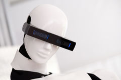 The head of the robot Stock Image