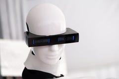 The head of the robot Stock Photos