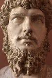 Head of Roman emperor Lucius Verus. Portrait of the emperor Lucius Verus Royalty Free Stock Image