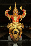 The head of the royal barge. Royalty Free Stock Photo