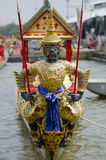 Head of royal barge Royalty Free Stock Photography