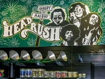 Head Rush Haight Ashbury, SF Stock Photo