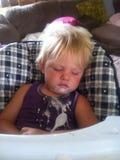 head sömnigt Royaltyfri Fotografi