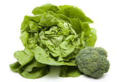 Head salad with broccoli Stock Image