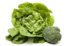 Head salad with broccoli Stock Image