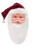 Head of Santa Claus Royalty Free Stock Images