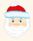 Head Santa Claus Stock Image