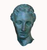 Head of Sappho isolated Stock Photography