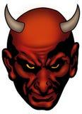 head satan Arkivbild