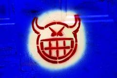 head satana arkivbilder