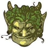 Head of satyr Royalty Free Stock Photo