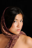 Head scarf wrap Stock Photos