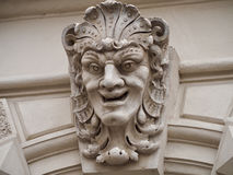 Head of sculpture Royalty Free Stock Photography