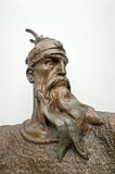 Head Sculpture Of Skanderbeg, Kruja Stock Image