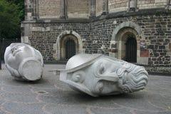 Head Sculptures Royalty Free Stock Photos