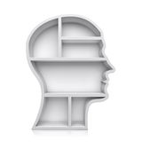 Head shape 3d Stock Image