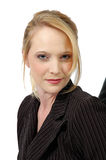 Head Shot. Should view of woman in business suit Royalty Free Stock Photography