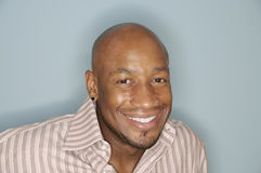 Head shot of an African American man Royalty Free Stock Photography