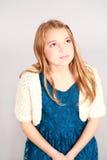 Head shot of beautifyul young girl Stock Image