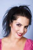 Head shot of beauty woman stock photography