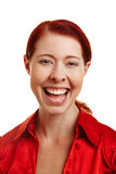 Head shot of happy smiling woman Stock Photos