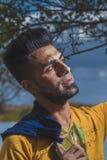 Head shot Of Iraqi guy Stock Photo