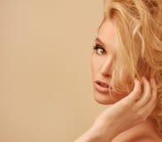 Head shot of luxury woman Royalty Free Stock Photo
